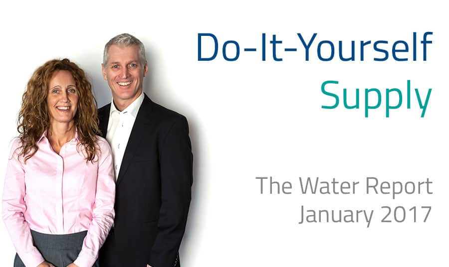 Water Report article - Do-It-Yourself Supply - self-supply
