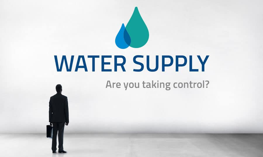 water supply - are you taking control? Consider Self-Supply